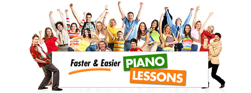Faster and Easier Piano Lessons Banner